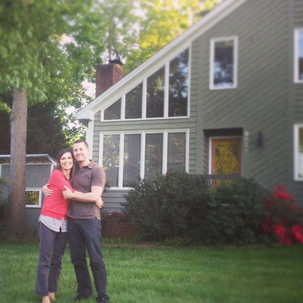 so excited to be homeowners!