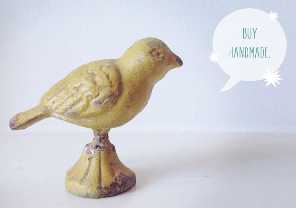 give thankfully: buy handmade