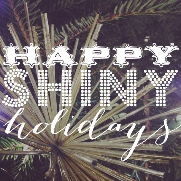 happy shiny holidays from bird + beau