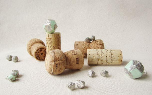 recycled cork jewelry by bird + beau