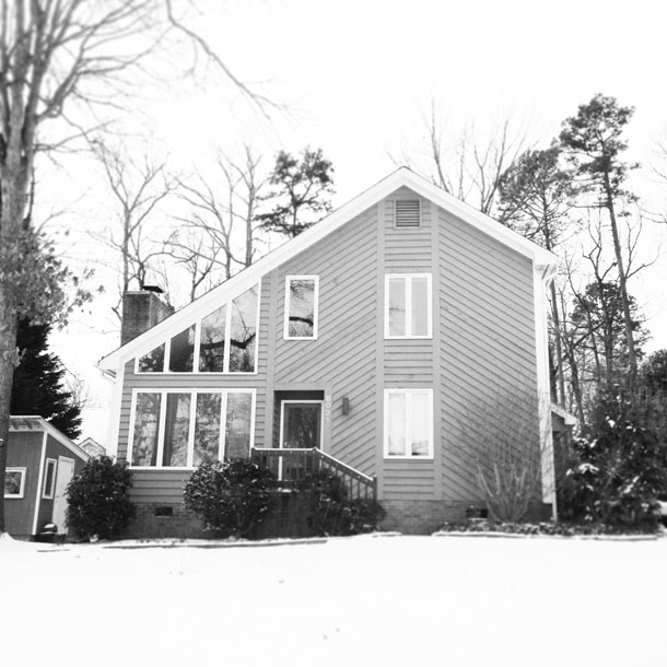 snow day: house