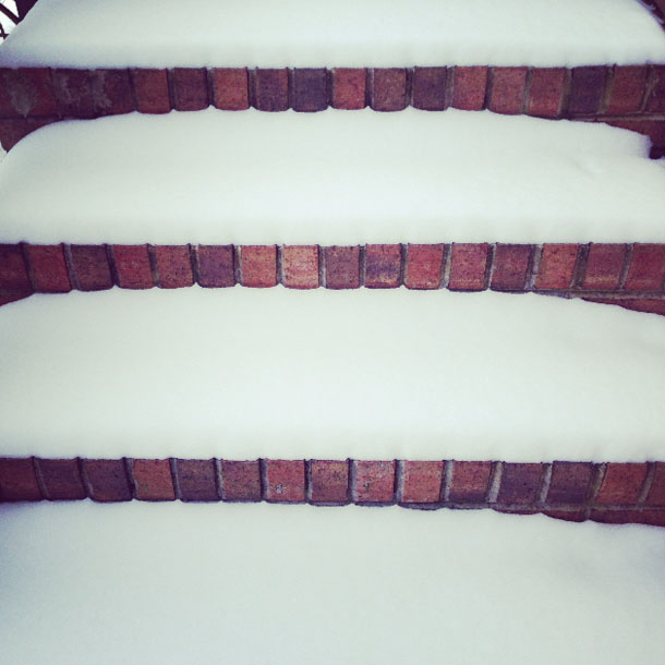 snow day: steps