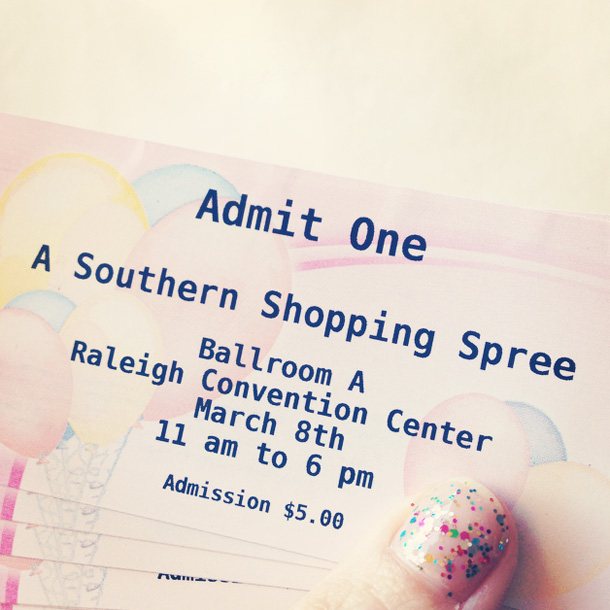 a southern shopping spree tickets