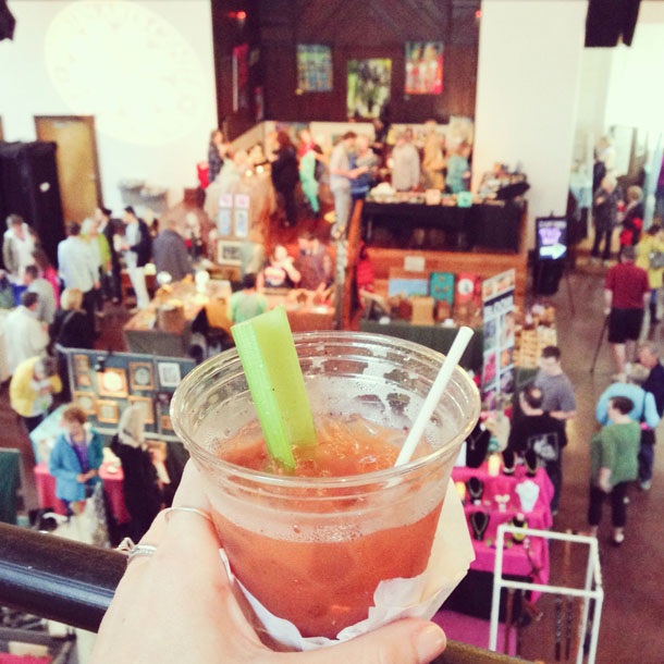 bloody mary at bac | wilmington nc
