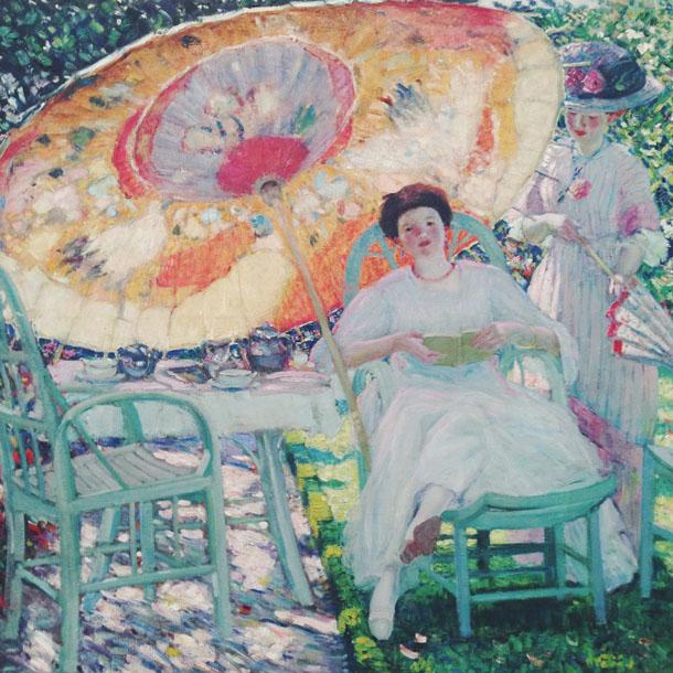 ncma | the garden parasol