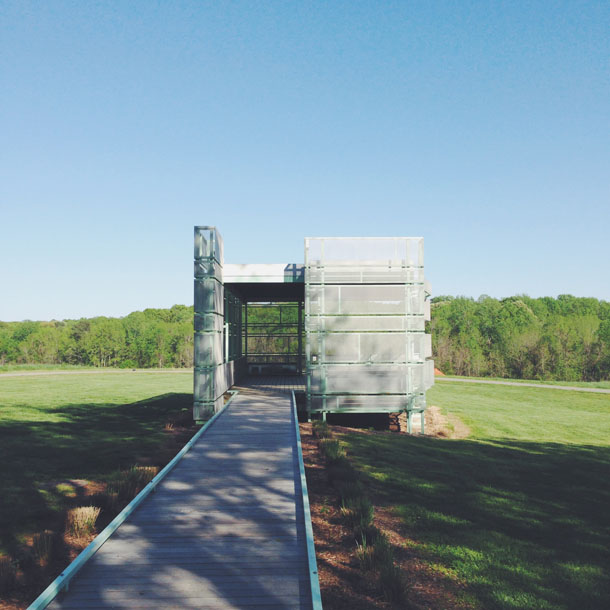 ncma | outdoor modern structure