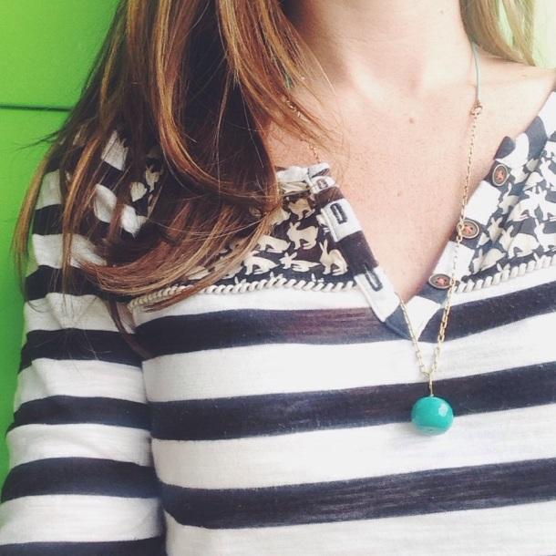 bird + beau necklace
