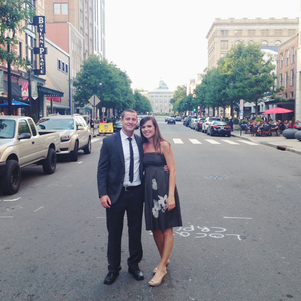 celebrating a wedding in raleigh, nc