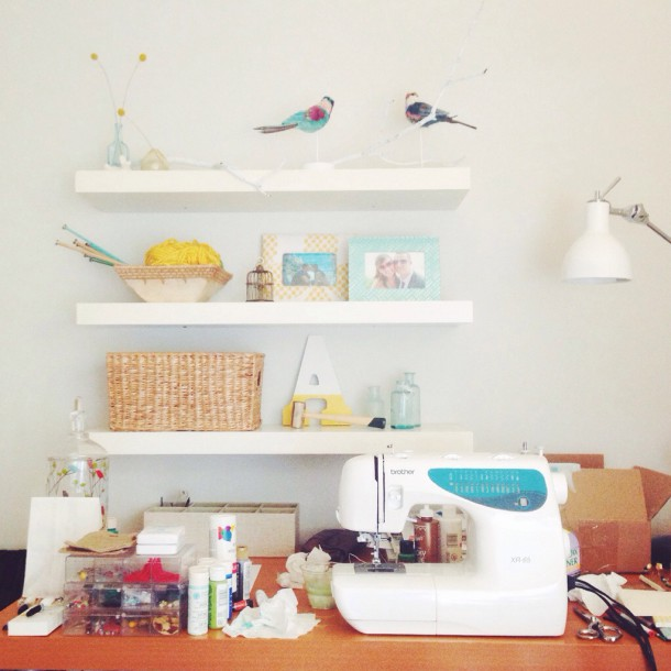 behind the scenes of bird + beau | one woman shop baton day