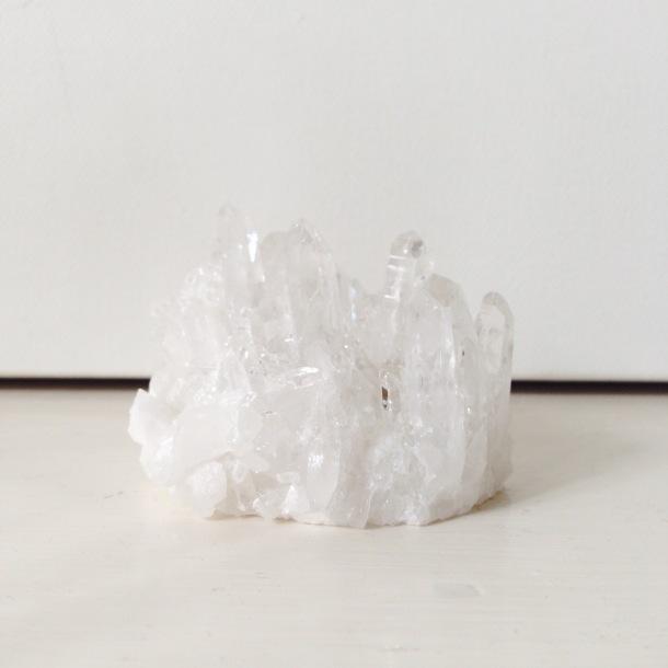 quartz crystal | bird + beau