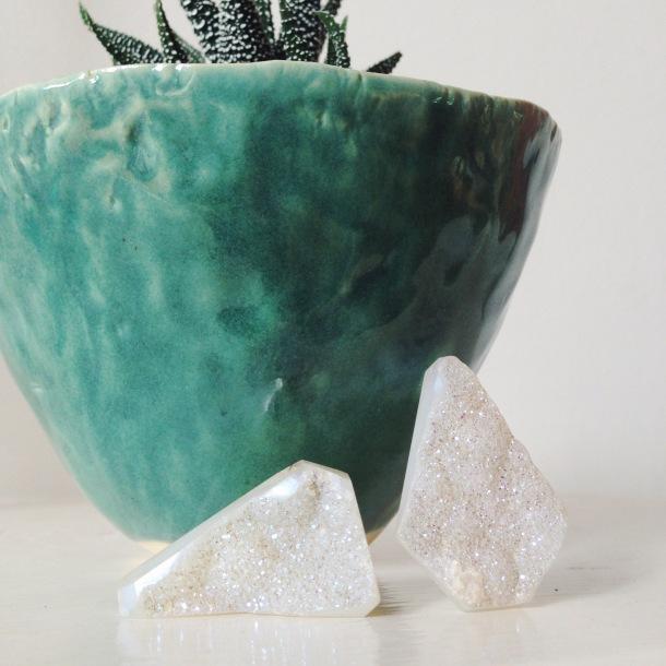 druzy stones | bird + beau