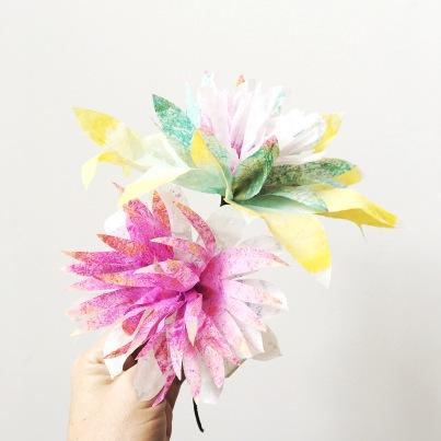 handmade spring flowers